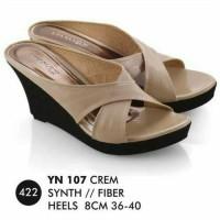Sandal Wedges Wanita / Sandal Selop Pesta / Sandal Distro Cantik Murah