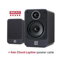Q Acoustics 2010i GR Graphite Speakers + free cable