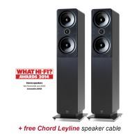 Q Acoustics 2050i GR Graphite Speakers + free cable