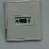 Faceplate/wallplate  isi 1= Gender vga