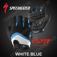 harga Sarung Tangan Sepeda   Specialized Bg Half   Hitam Biru Tokopedia.com