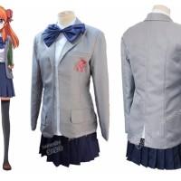 Costume Chiyo Sakura Gekkan Shoujo Cosplay seragam Seifuku import