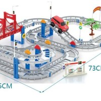 Dream of Track 5 Contest isi 88 pcs / Mobil & Lintasan / Jalur / Jalan