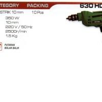 Mesin Bor 10mm Bolak Balik Variable Speed NRT-PRO 630 HD