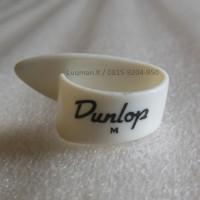 Thumbpick Dunlop White 9002R Medium