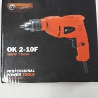 Mesin Bor Tangan / Hand Drill 10mm OK-Tools
