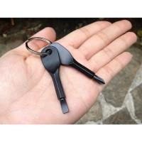 XTOOLS Phillips Screwdriver Combination EDC Keychain / Obeng Mini