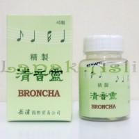 Throat Clearing Pills Broncha - Obat Batuk Berdahak Tenggorokan Kering