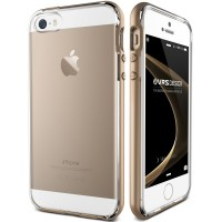 Verus iPhone SE/5S/5 Case Crystal Bumper - Champagne Gold