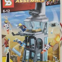 Jual Lego SY heroes assemble (Attack on avenger tower) sy370 Murah