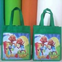 tas ulang tahun anak karakter gambar kartun lucu.