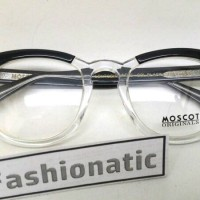 MOSCOT Lemtosh Black Clear Transparant