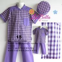 Baju Koko Anak Labella Usia 8-13 Th