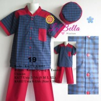 Baju Koko Anak Labella Usia 8-13 Th