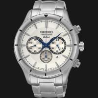 Jam tangan pria Seiko original Chronograph SRW033P1 ( ricurl bonia )