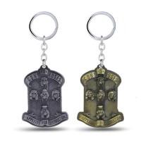 Gantungan Kunci Guns N Roses Band 3D Keychain