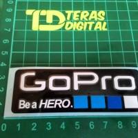 Cutting Sticker logo GoPro be a Hero