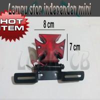 harga Lampu Stop Independent Mini (Untuk Cb, Classic, Jap Style) Universal Tokopedia.com