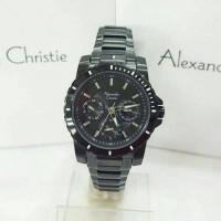 harga Jam Tangan Alexandre Christie Wanita AC 6141 Full Black Original Tokopedia.com