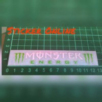 Sticker Cutting Monster Energy visor helm helmet/sticker motor