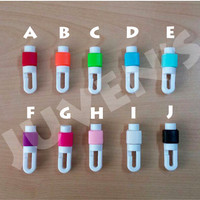 Cable Protector / Pelindung Kabel for Earphone khusus Apple