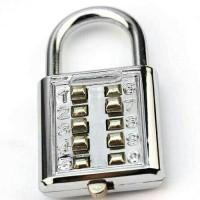 Gembok tanpa kunci - 10 pin angka nomor pintu tas jendela rumah