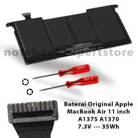 Baterai Original Apple MacBook Air 11 inch A1375 A1370 7.3V - 35W