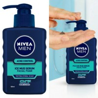 NIVEA Men Acne Control Ice Mud Serum Foam Acne Facial Wash