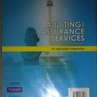 AUDITING ASSURANCE AND SERVICES RANDAL ELDER(INGGRIS)