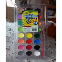 Crayola 24 Colors Washable Watercolors / Cat Air