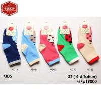 Kaos Kaki Anak Anak Panjang   Pendek   Motif   Import   Katun   Korea AD1