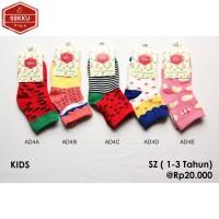 Kaos Kaki Anak Anak Panjang   Pendek   Motif   Import   Katun   Korea AD4