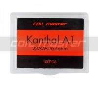 Coil Master Kanthal Coil Prebuilt 0.4ohm 22awg khantal kantal A1