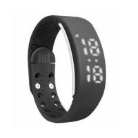 W2 Multifunction Sport H Pedometer Calorie Meter Temperature - Black