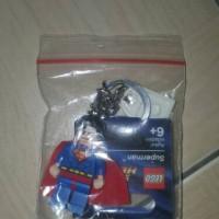 lego keychain superman