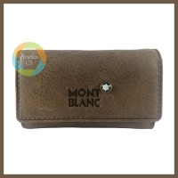 DOMPET KUNCI KULIT - Mont Blanc - Coklat | Dompet STNK Mobil