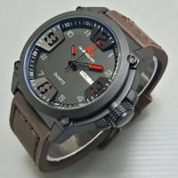 jam tangan pria/cowok tersedia warna : hitam dan coklat