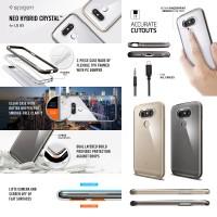 Spigen Neo Hybrid Crystal Case LG G5 / G5 SE TPU PC Bumper Original
