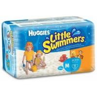 harga HUGGIES LITTLE SWIMMERS DISPOSABLE SWIMPANTS SZ M Tokopedia.com