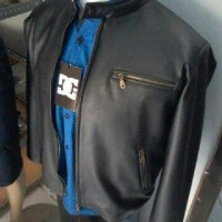 Harga grosir pengrajin jaket kulit pria konveksi jaket kulit garut | Hargalu.com