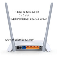 Router WIFI 3G/4G TP-Link TL-MR3420 V3 Support Update Modem USB 4G LTE
