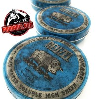 Jual Reuzel Strong Hold Water Solube High Sheen Pomade- Blue Murah