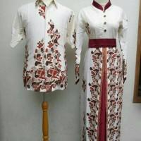 harga seragam keluarga/couple batik/baju couple/busana muslim/batik putih Tokopedia.com