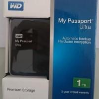 Jual Harddisk Externa WD My Passport Ultra 1 TB / WD PASSPORT 1TB Murah