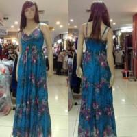 Longdress import / Gaun panjang pantai / baju panjang santai/ Korea