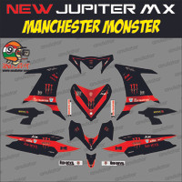harga Sticker Striping Motor stiker Yamaha New Jupiter MX MU Spec A Coating Tokopedia.com