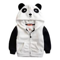 Jaket Hoodie Panda Anak - Jaket Anak Lucu - Jaket Anak Impor