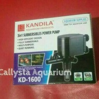 Pompa Filter Aquarium Kandila KD-1600