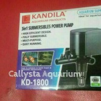 Pompa Filter Aquarium Kandila KD-1800