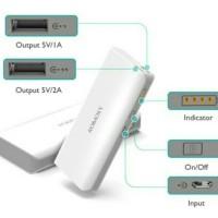 Jual Romoss Sense 4 Powerbank 10.400mah OriginaL Real Capacity - Putih Murah
